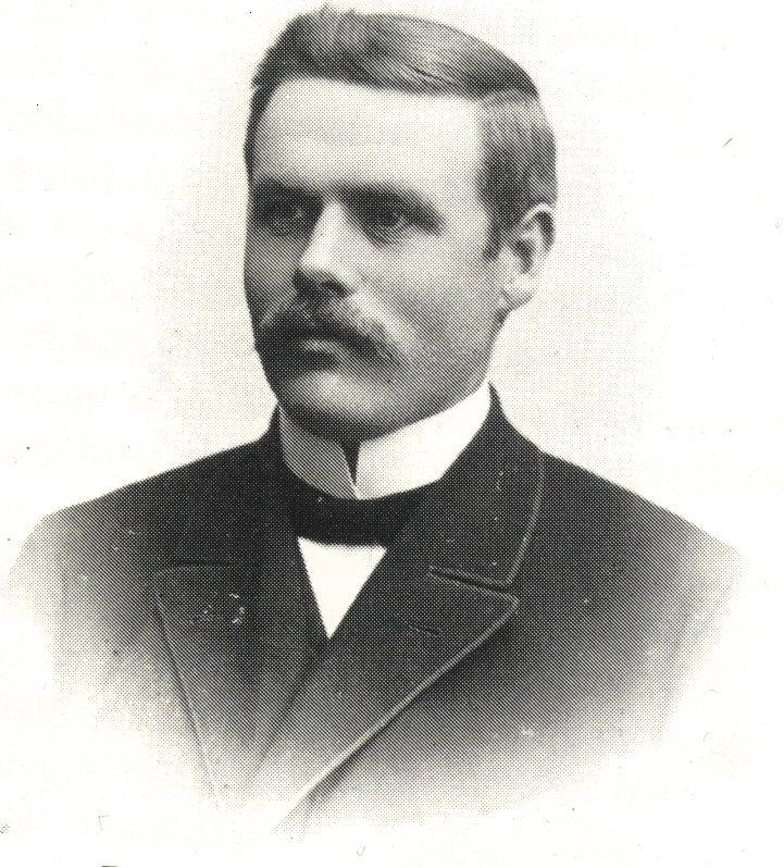 Otto Länsberg som ung baptistpredikant